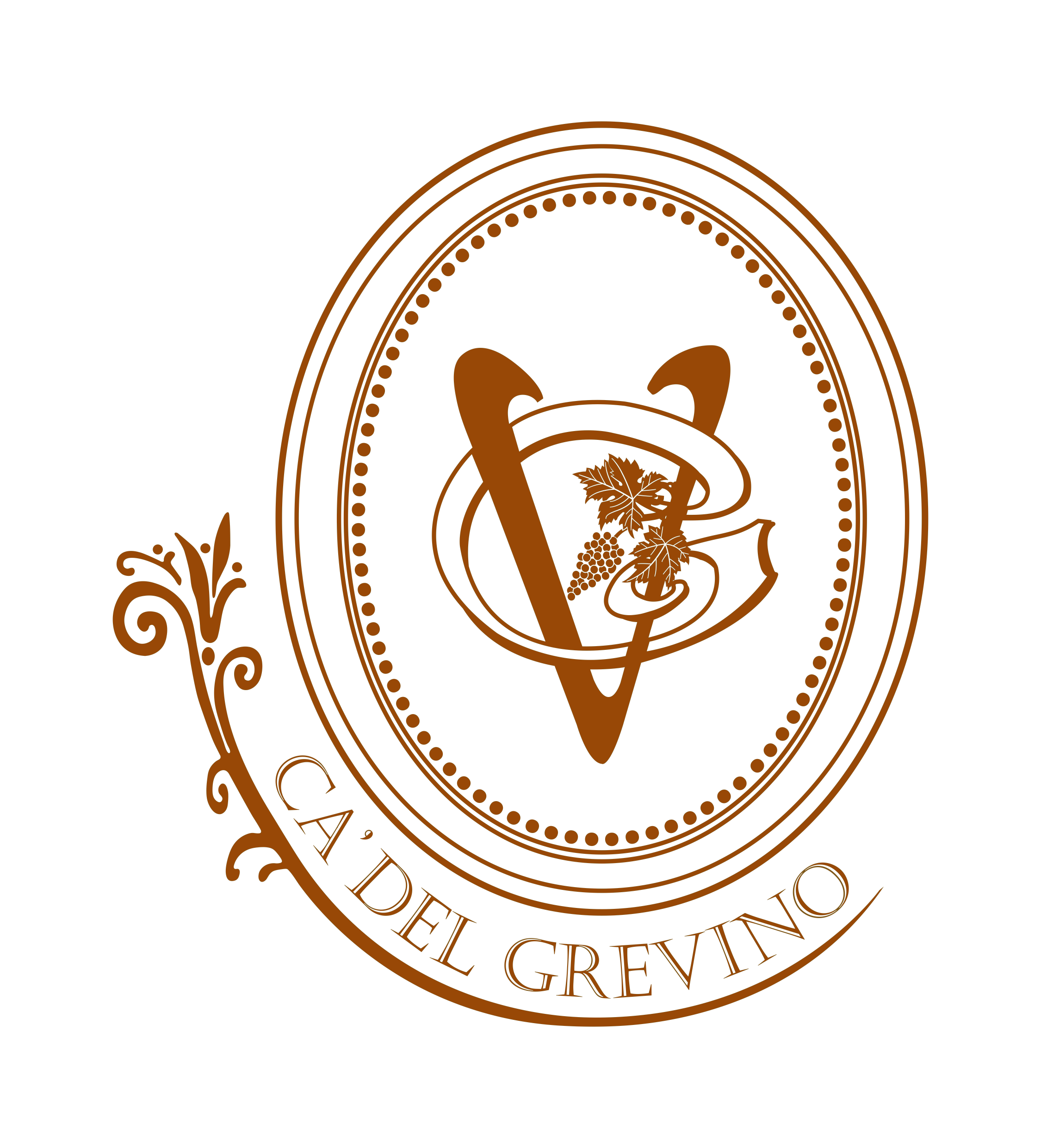 Ca' Del Grevino Estate Winery, Vineyard & Villa