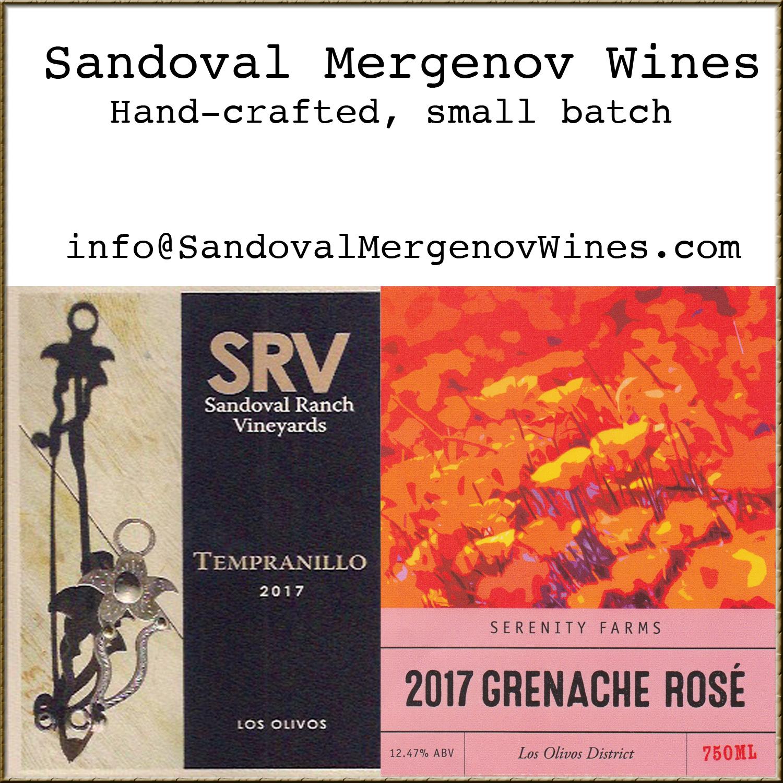 Sandoval Mergenov Wines
